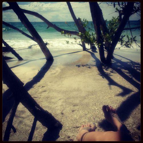 Enjoying Life on Whitney Beach Beer Can Island