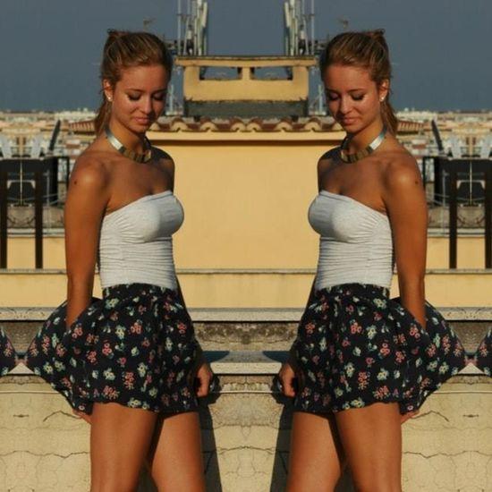 ThatsMe Blonde Girl Shooting Ootd Model Enjoying Life Summer Good Times Taking Photos