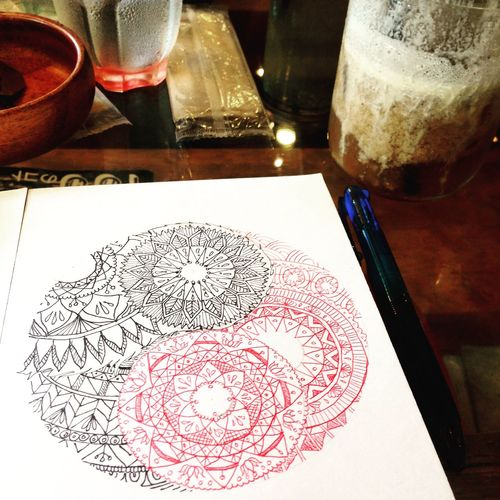 YohkoAmaterraArt 曼荼羅 マンダラ Art Drawing My Art Work Mandalas Mandala Nature Earth