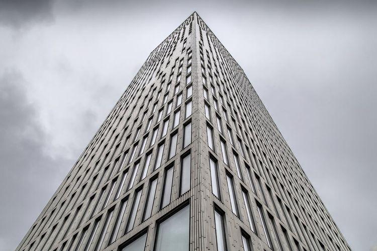 Malmö Sweden Schweden Office Hochhaus Sky Himmel Wolken Cloud - Sky Cloud Building