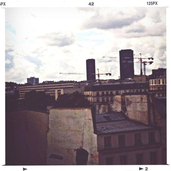 petite vue parisienne Home Sweet Home Parisian Life Skyline