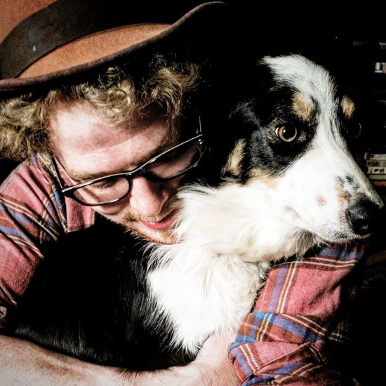 A bond unbreakableThe Portraitist - 2016 EyeEm Awards Spiff And Lux A Man Anf His Dog Woodsy Living Dog Border Collie Hats