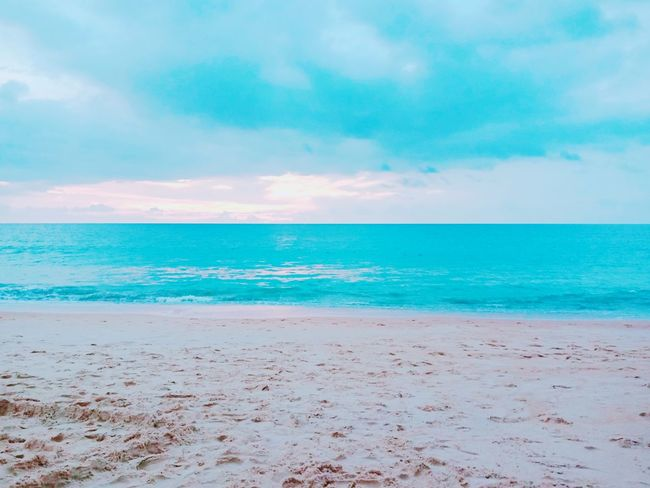 maikoa Beach phuket Water Sea Beach Pastel Colored Blue Sand Multi Colored Summer Relaxation Wave Island