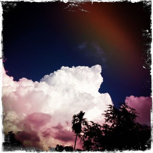 clarity.. Clouds And Sky Bangkok Thailand. Hipstamatic Hello World