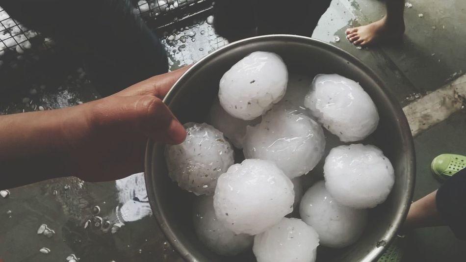 ole ole olee Hailstones Snowballs Mast Weather Water