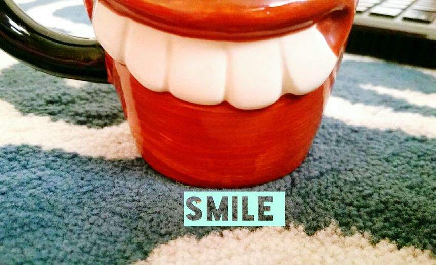 Smile Cheese! Happiness Happy Smily Cup 😁