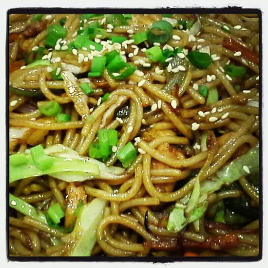 home style noodles...spicy....hm so delicious (for me :) ) Too Spicy Chinese Food Enjoying A Meal