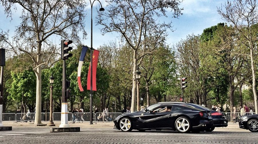 F12 Berlinetta in Paris seen 2 days ago Ferrari Supercar Car Paris