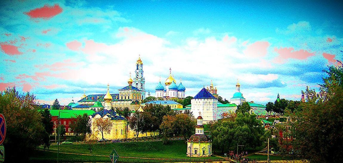 Architecture Building Exterior Fantasy Imagination Intensecolor Photo-manipulation Spiritual St.SergiusMonastery Tower