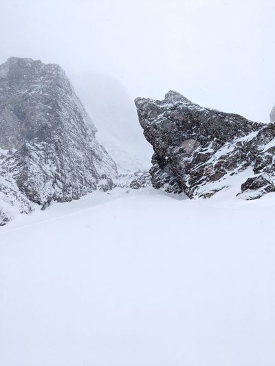 Crestone Needle Route. Climb Mountain Colorado Alpine Photography Desolate Peak High Altitude The Higher You Get The Higher You Are 14er Winter Snow Cold Temperature Winter Snowing Polar Climate Snowcapped Mountain Deep Snow