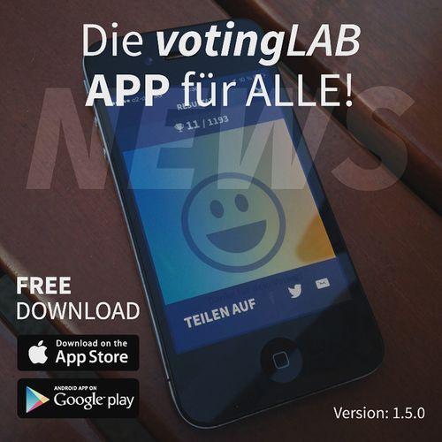 VotingLAB App Update