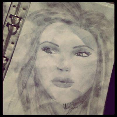 Girl Sketch Sketchbybrown