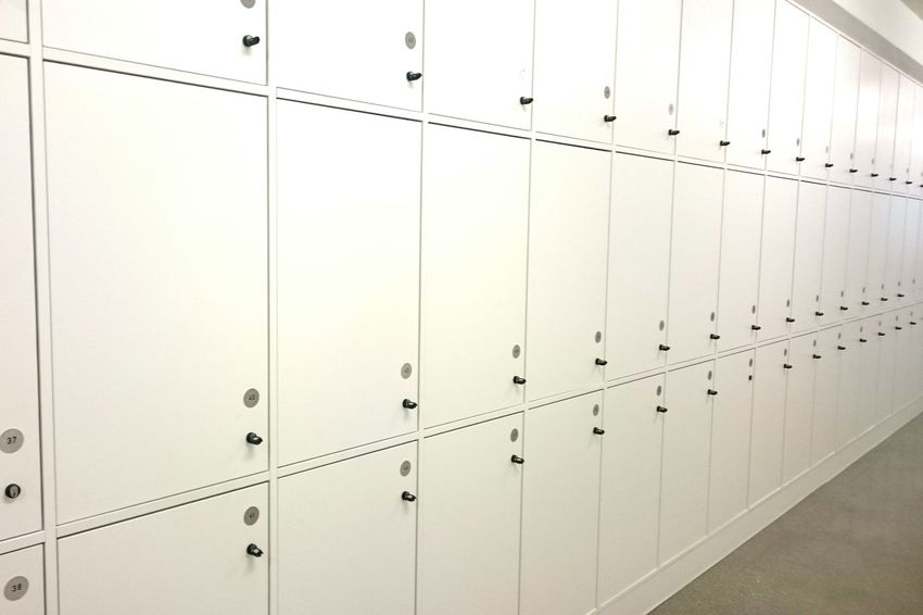 Locker Locker Room Pattern Indoors  Business Finance And Industry Industry Backgrounds No People Day Close-up Technology Architecture Indoors  Geometry