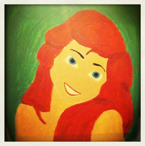 Art ..My Amber ! Pianted This Disney