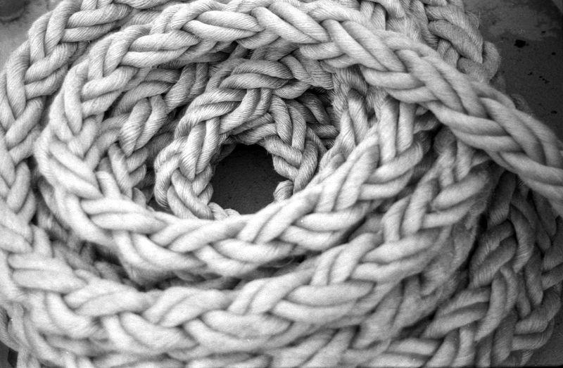 Analogue Photography Black & White Film Rope Abstract Black And White Blackandwhite Film Photography Pattern EyeEmNewHere The Week On EyeEm