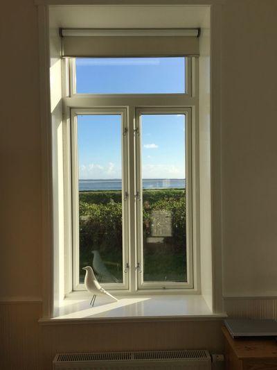 Deich  Indoors  No People Sky Transparent Wattenmeer Window Window Sill Zimmerblick Croatia Brela