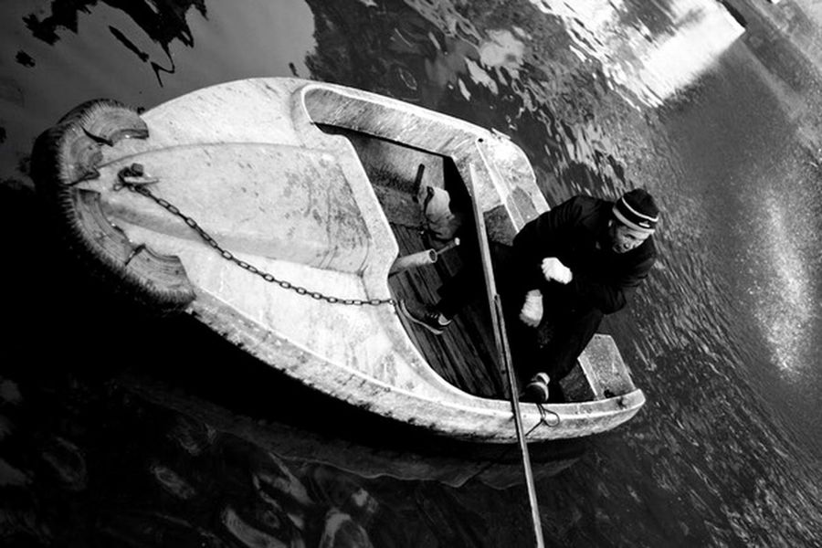 China Boat Boatsmen Streetphotography
