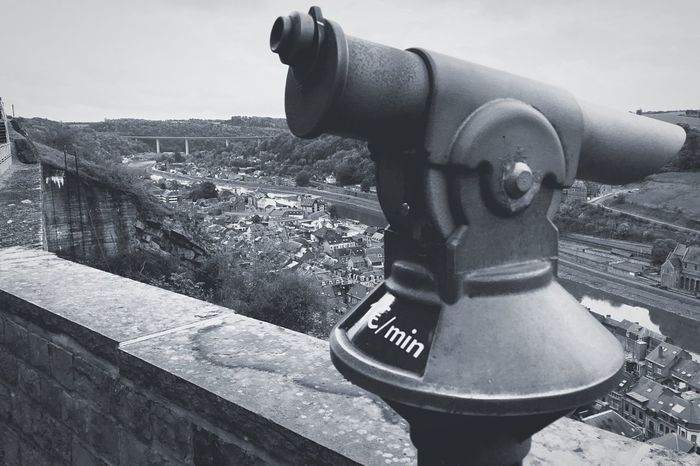 Shot On IPhone Coin-operated Binoculars Architecture Cityscape City Close-up Connected By Travel Lost In The Landscape Done That. Been There. No People Blackandwhite Black And White Black & White Blackandwhite Photography B&w Photography EyeEmNewHere Perspectives On Nature