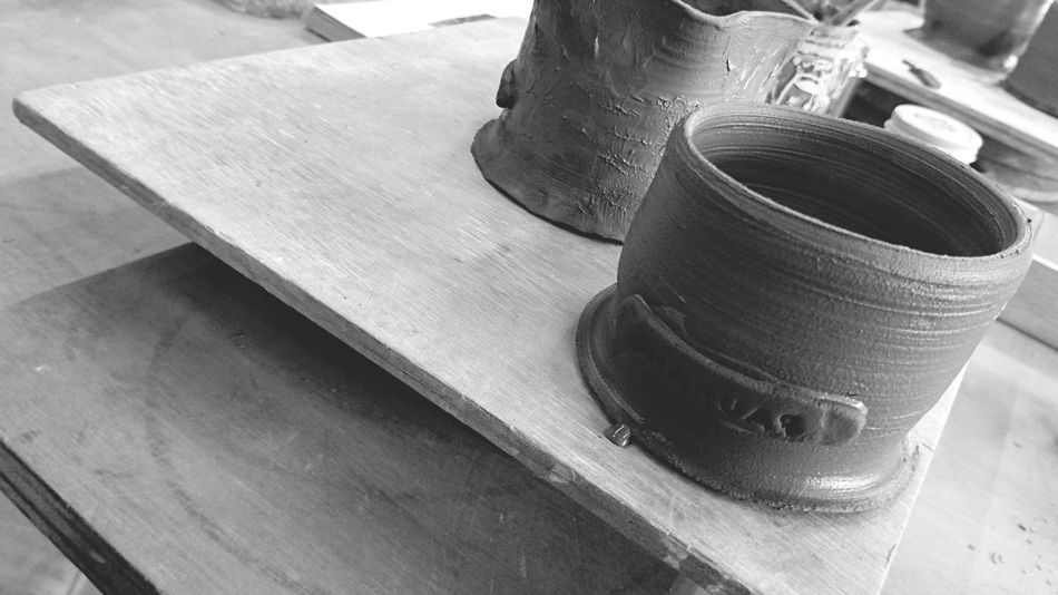 Pottery Pottery Art Potterymaking Pottery Studio Pottery Factory Ceramics Ceramics Art Ceramics Studio Ceramics Factory Blackandwhite Photography Blackandwhite Black And White Collection  Pottery And Clay