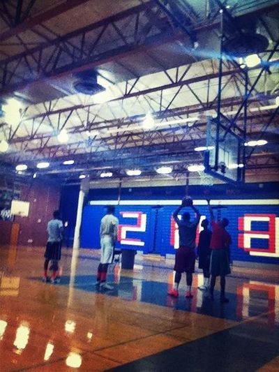 Getting this work early Jab Lamont Tyreke Marquise Chancie and Joel