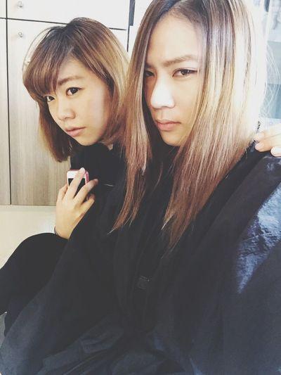 以前。 Design Hair Haircut Friends Life Sister Cold Winter ❄⛄ Beautiful Nice