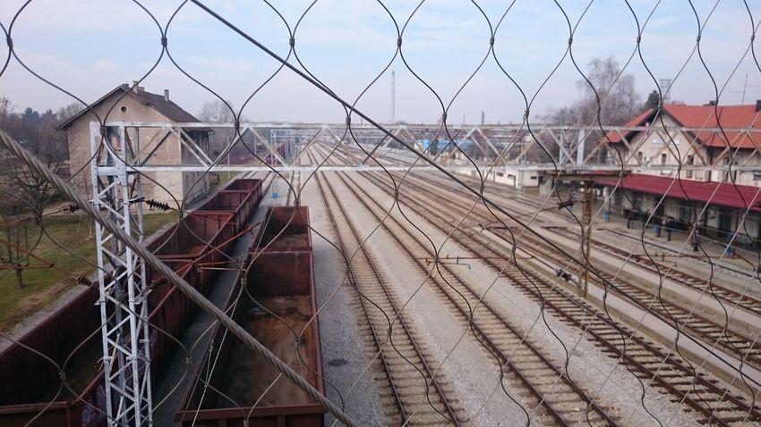 Mo Filter Train Station Train Tracks