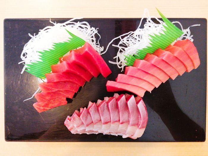 Healthy lunch ChuToro Hamachi Keto Diet Freshness Fish Eyeemfood EyeEm Selects Sushi Multi Colored Seafood Close-up Food And Drink Sashimi  Japanese Food
