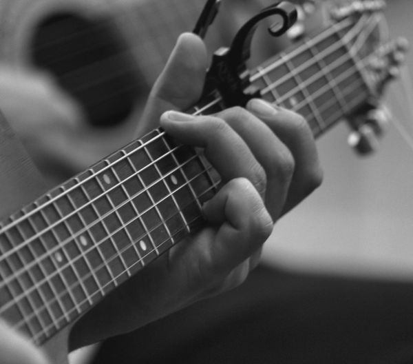 Music Person Musical Instrument Playing Arts Culture And Entertainment Close-up Human Finger Focus On Foreground Black And White EyeEm Best Shots Blackandwhite EyeEm Best Shots - Black + White Bw_collection Streetphoto_bw Photooftheday Streetphotography