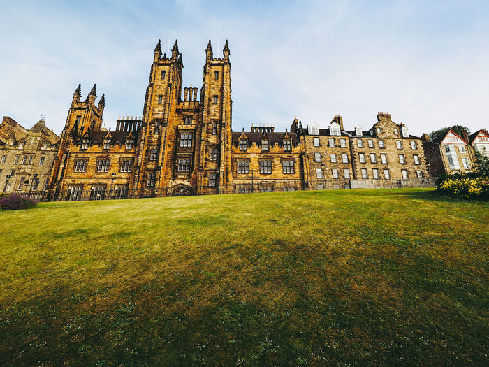 New College of Theological Faculty Edinburgh Gothic New College Scotland Architecture Building Exterior Theological College Uk