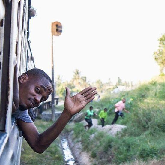Hello World! Dar es Salaam   Tanzania w/ @prince_mwamboma Photo by @idreamfoto . . . Traveling Daresalaam Tazara Tanzania Goodmorning MyTanzania Shutterburgstz Visiterlafrique Photographytz Vscotanzania Train Archive Hello World Indaressalaam EyeEm Selects