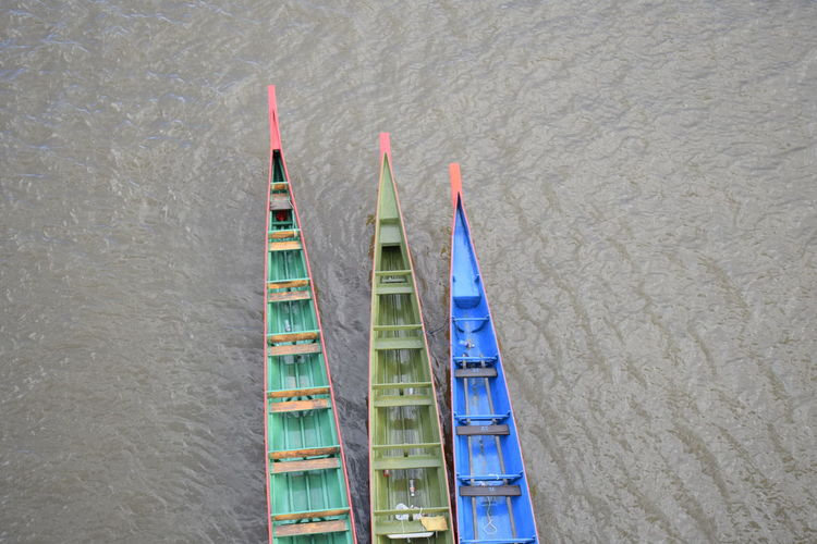 the boats Boat Day High Angle View Nature Nautical Vessel No People Outdoors View From Above Water