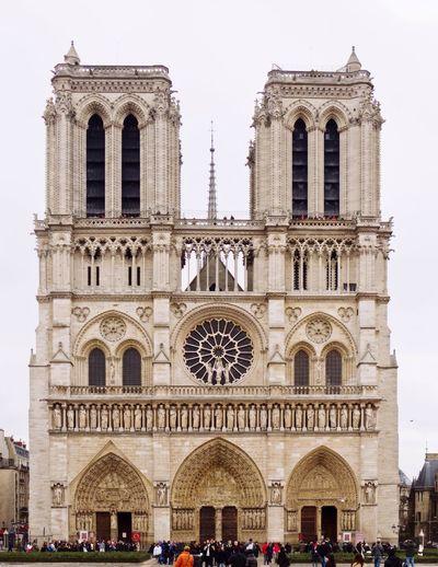 Notre Dame de Paris Old Architecture Beautiful Place Hello World Historical Place Visit Check It Out