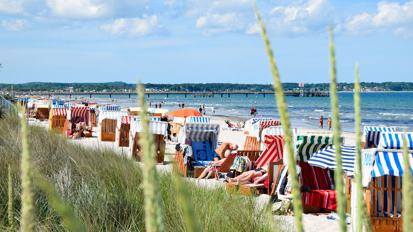 Scharbeutz Beach - Germany 2016 Beach Beach Photography Beachinspector.com Beachphotography Cloud Day Deutschland Followme Germany Holiday Lübeck Multi Colored Nature Relaxing Strand Strandkorb Summer Summertime Sun Sunshine Travel Traveling Urlaub Vacation