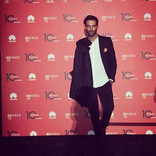 Vogue Voguecina Party Instamood Instagood Photocall Huawei WOW Cool Mfw Instamoment Milano MFW15 Voguechina