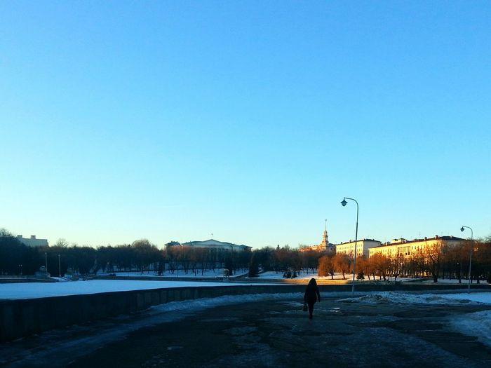 Minsk Parkgorkogo Winter Streetphotography
