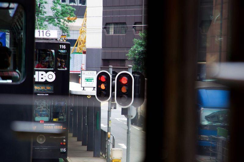 Built Structure Building Exterior Architecture No People Illuminated Outdoors Day Close-up Pentaxlens Hongkong Photos Hongkongtrip Harbor Hongkongcity HongKong Pentax K5ll Pentaxian Pentax Tram Traveling Trip Lughts  Hongkongstreet Hongking Buildings Tramway Tramonto