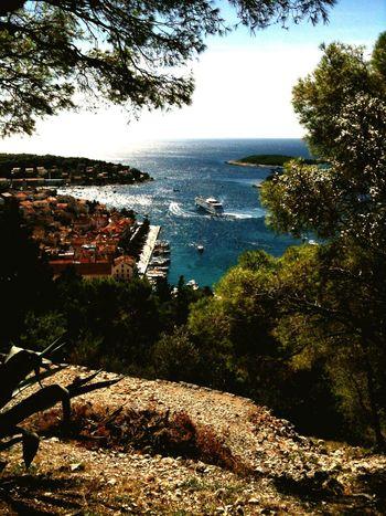 Hvar Island, view on Hvar town, Croatia
