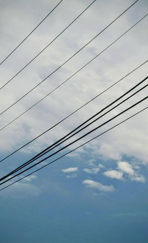 Power Lines Sky Sky And Clouds Looking Up Storm Clouds Blue Sky Gray Clouds