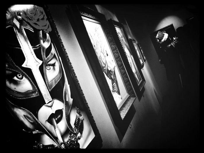 Art Show B. Viveros Paintings Gallery