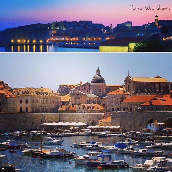 Panoramic view of Dubrovnik Old Town & Dubrovnik pier   Dubrovnik, Croatia Croatia Travel Dubrovnik Oldtowndubrovnik