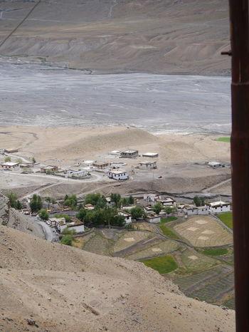 Day Gompa Highest Village Land Himalayan Range Himalayan Road Himalayan Village Monastry No People Outdoors Tibetan  Tibetan Buddhism Village Life