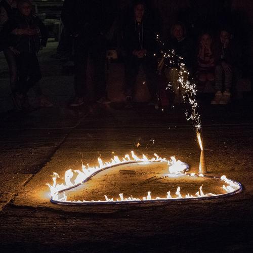 "Performance ""Lichterloh"" Lemgo Entrup 09/24/16 Art Artist Burning Close-up Fiery Heart Fire Fire Show Firework Flame Glowing Heart Of Fire Heat - Temperature Lit Low Light Low Light Photography Luminosity Night No People"