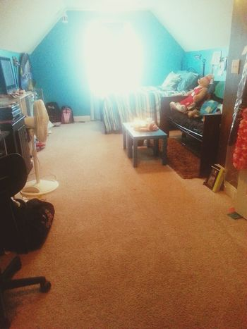 cleaned my room :)
