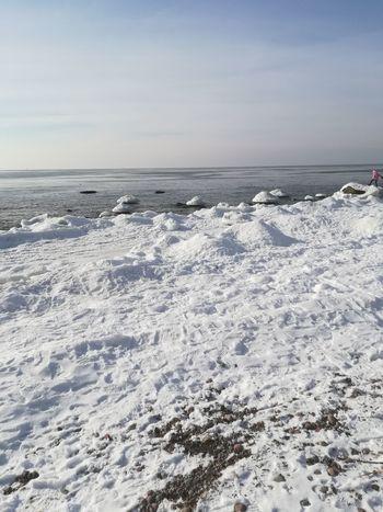 Snow ❄ Snowing Sunny Day Day Sea Ice Sunnyday☀️ Sunny