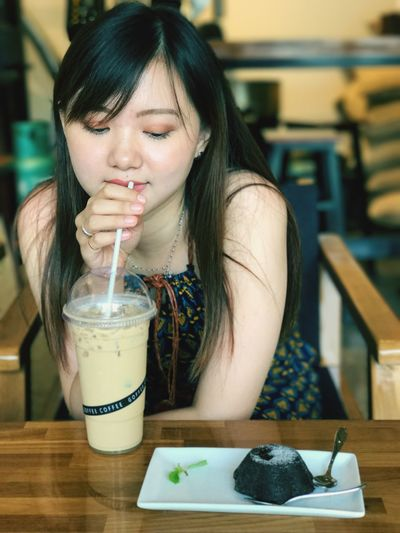 Mygirl❤️ Portrait Food And Drink