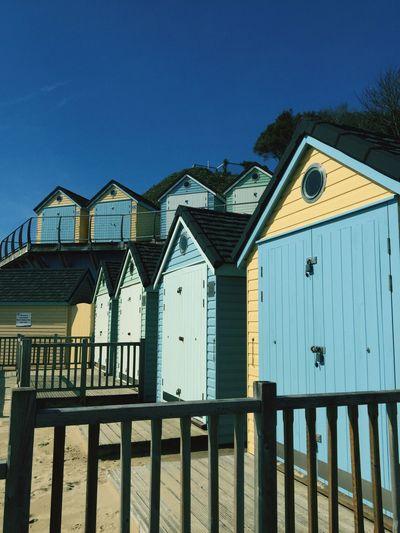 Beachhuts England England🇬🇧 South Coast Bournemouth Beach British Britishness Beach Cabins Dorset Coast The Architect - 2017 EyeEm Awards