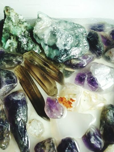 Close-up Crystal Gemstones Amethyst Smoky Quartz Rose Quartz Citrine Hobby Rock Agate Stone Fragility Rocks And Minerals