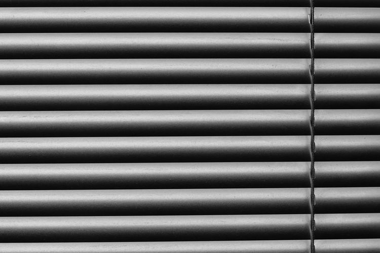 Aluminum Architecture Backgrounds Brushed Metal Built Structure Close-up Corrugated Iron Day Indoors  Industry Iron - Metal Metal No People Pattern Speaker Steel Striped Textured