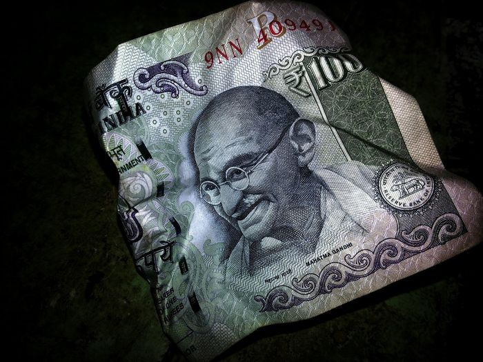 Money is Everything ? What about Peace and Love ?? Peace is Downtroden by Arms and Wealth .... Mahatma Gandhi is Printed in our Currencies: This is Indian National Rupees 100 : Wealth Vs. Peace Gandhi Rupees 100 Open No Edit Check This Out Taking Photos India The Still Life Photographer - 2018 EyeEm Awards