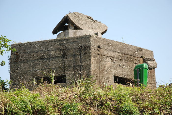 Architecture Building Exterior Built Structure Clear Sky History No People Outdoors Vietnam Vietnam War Era French bunker in Vietnam Vietnam mountain bunker